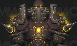 Warrior Tier 20 Armor Set Dark