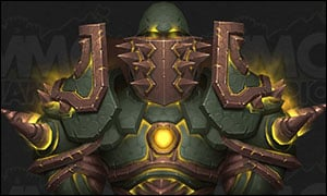 Warrior Tier 20 Armor Set Green