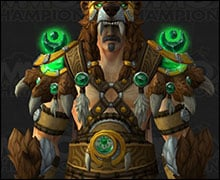 Druid Mythic Tier 21 Armor Set