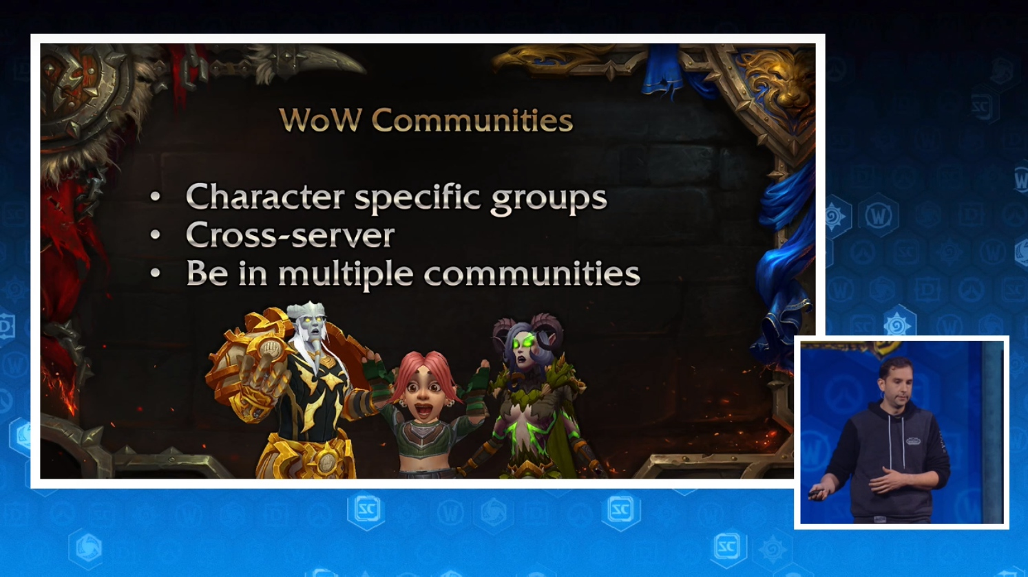 I'm confused, are we going to have cross-server guilds now?
