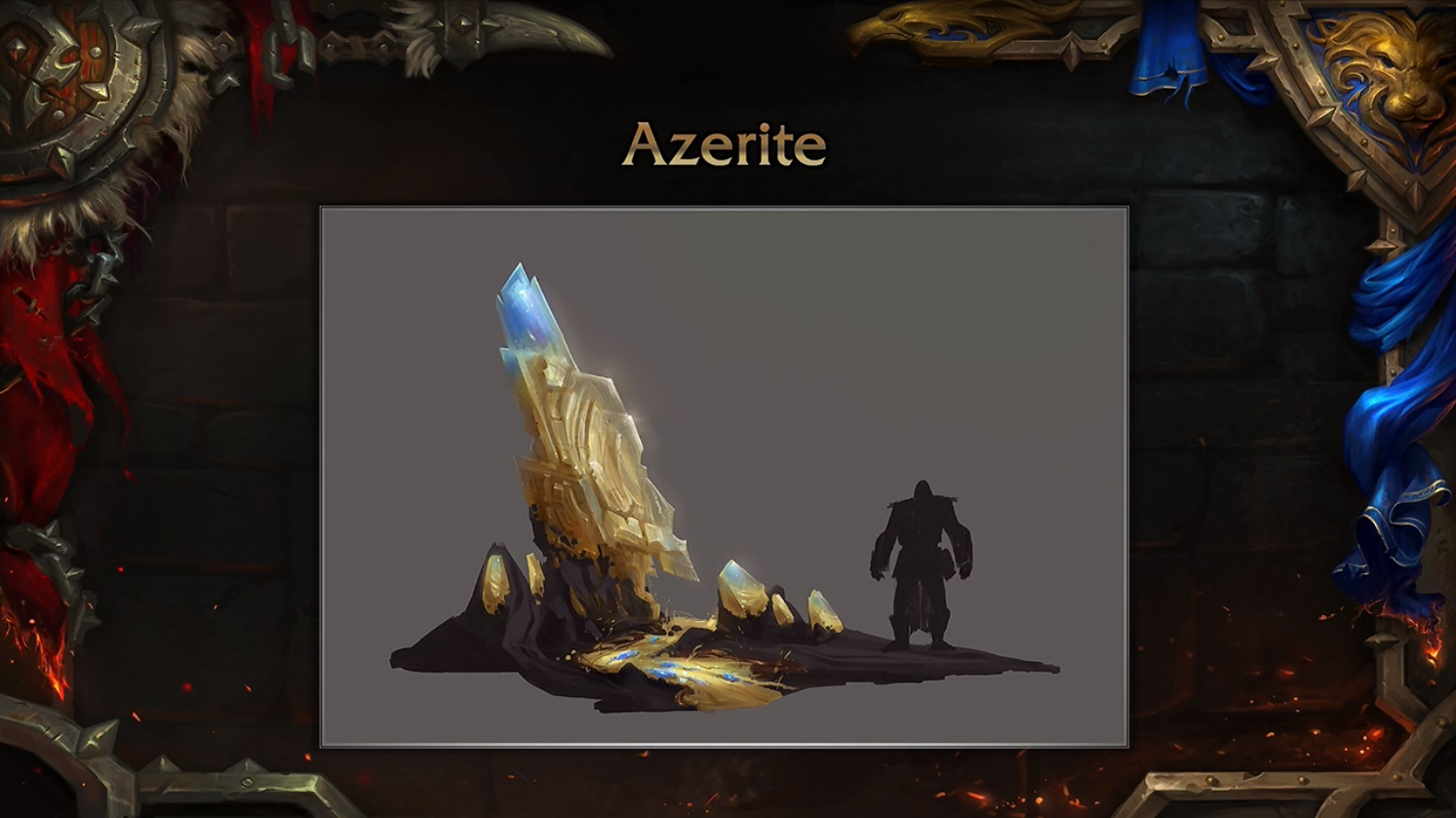 Heart of Azeroth and Azerite Armor Preview - Battle for