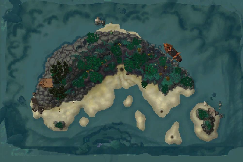 Battle for Azeroth Alpha - Build 25902 Maps