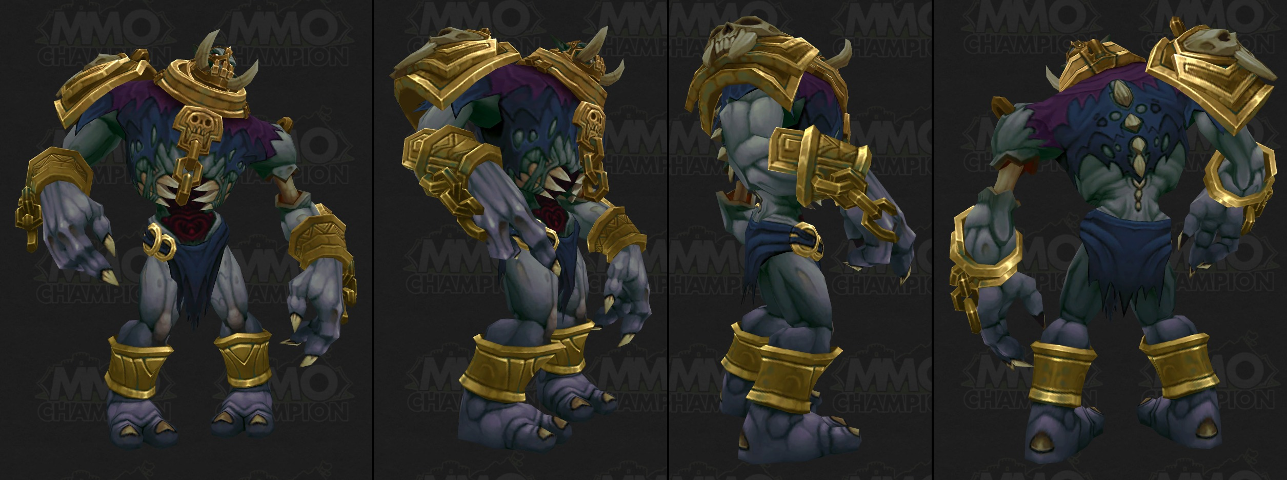 Feedback Zandalari Trolls Missing Heel Toe World Of Warcraft Forums