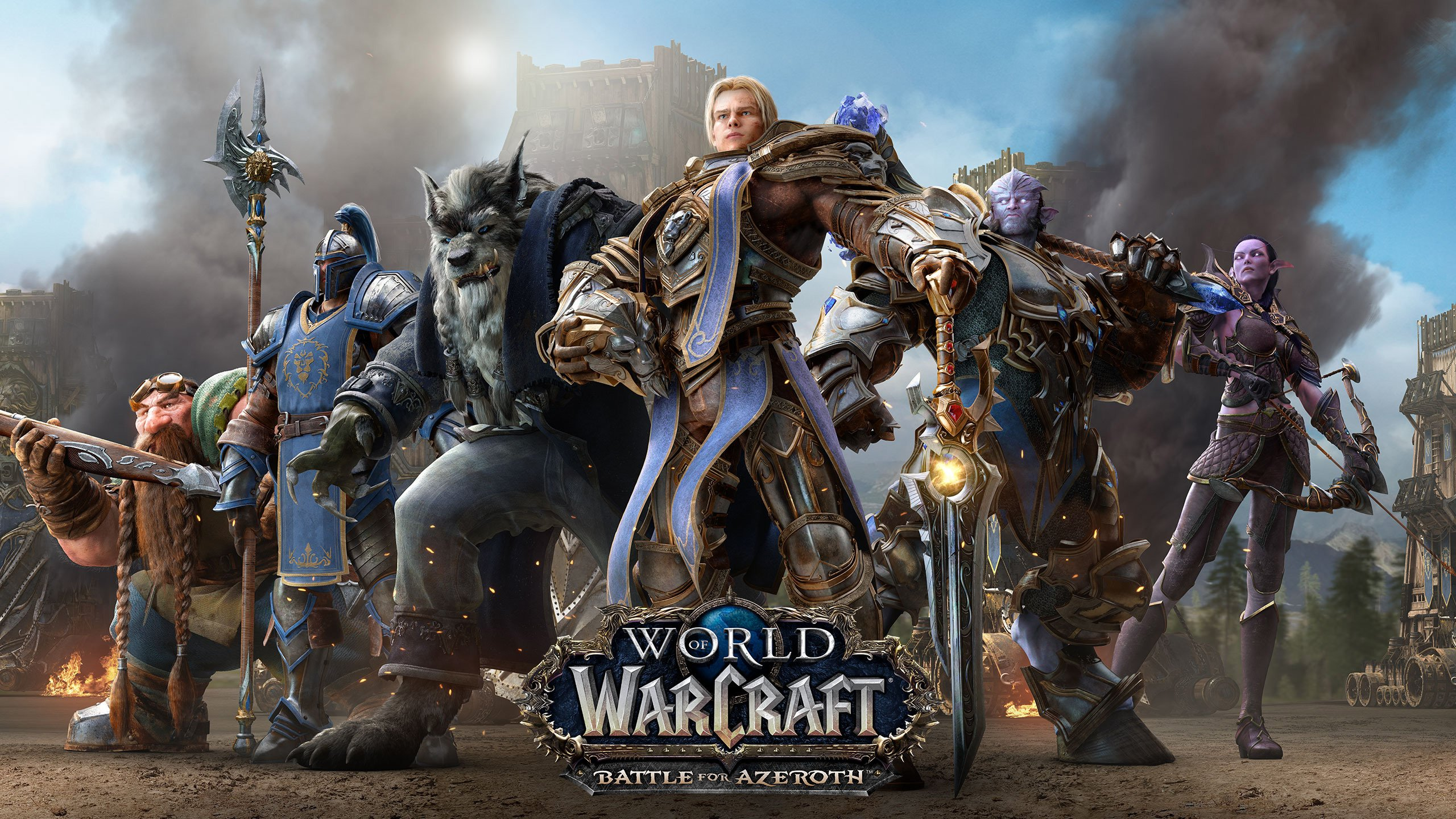 World Of Warcraft Wallpaper Bfa: Battle For Azeroth Pre-Purchase Now Available