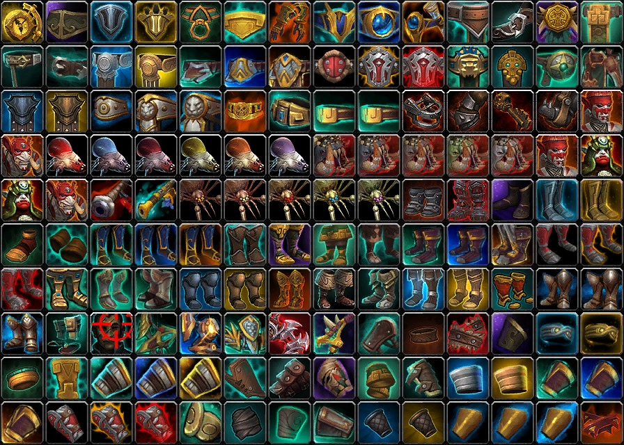Battle for Azeroth Icons