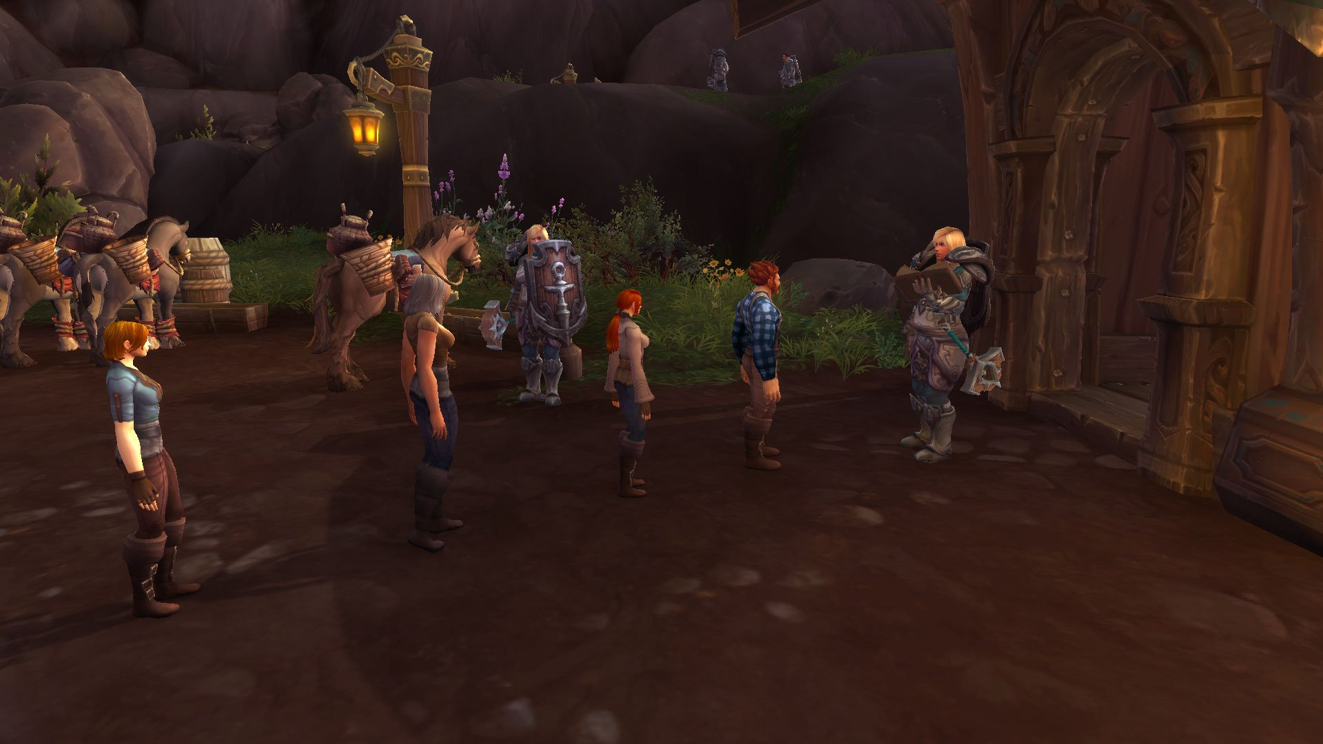 Variable height humans in BfA?