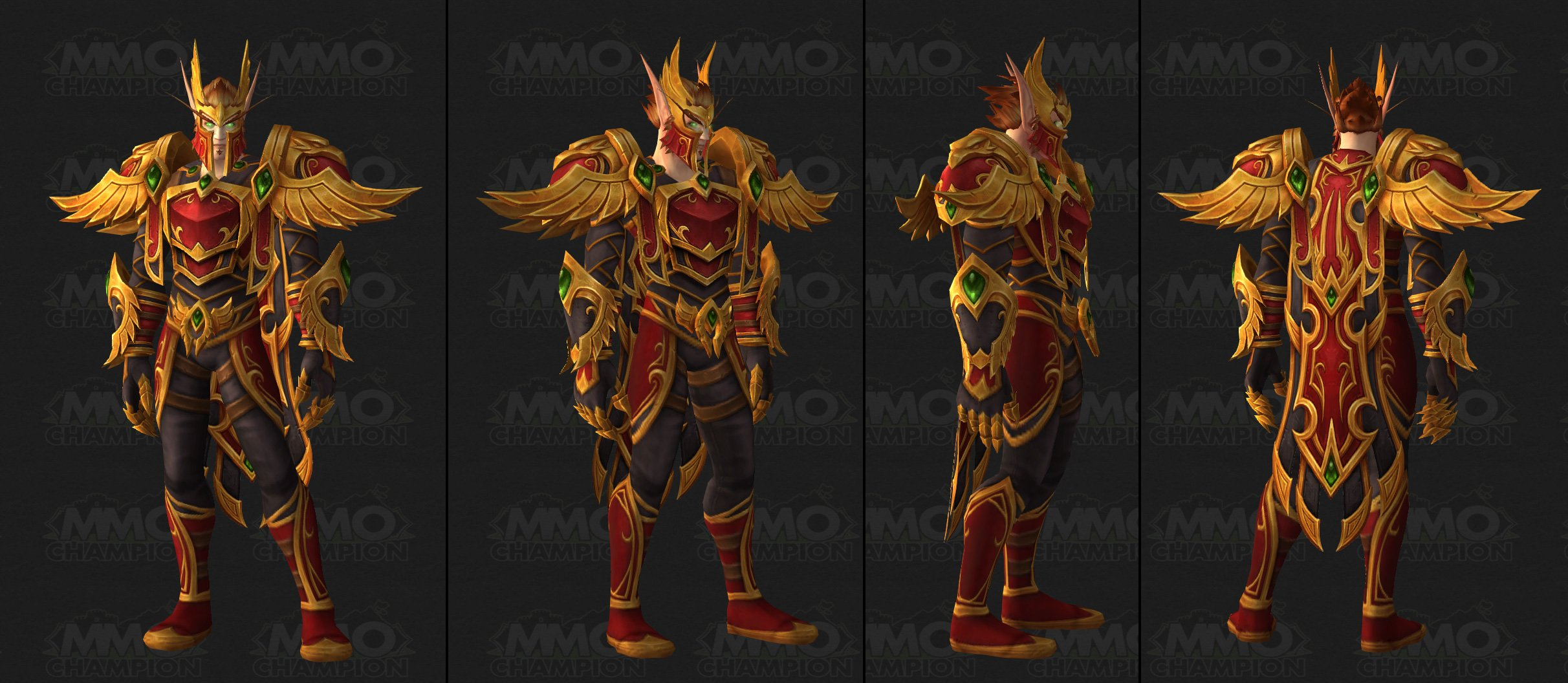 Blood Elf Heritage Armor and Heritage of the Sin'dorei Quest