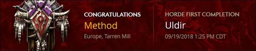 Method World First G'huun Kill - MMO-Champion