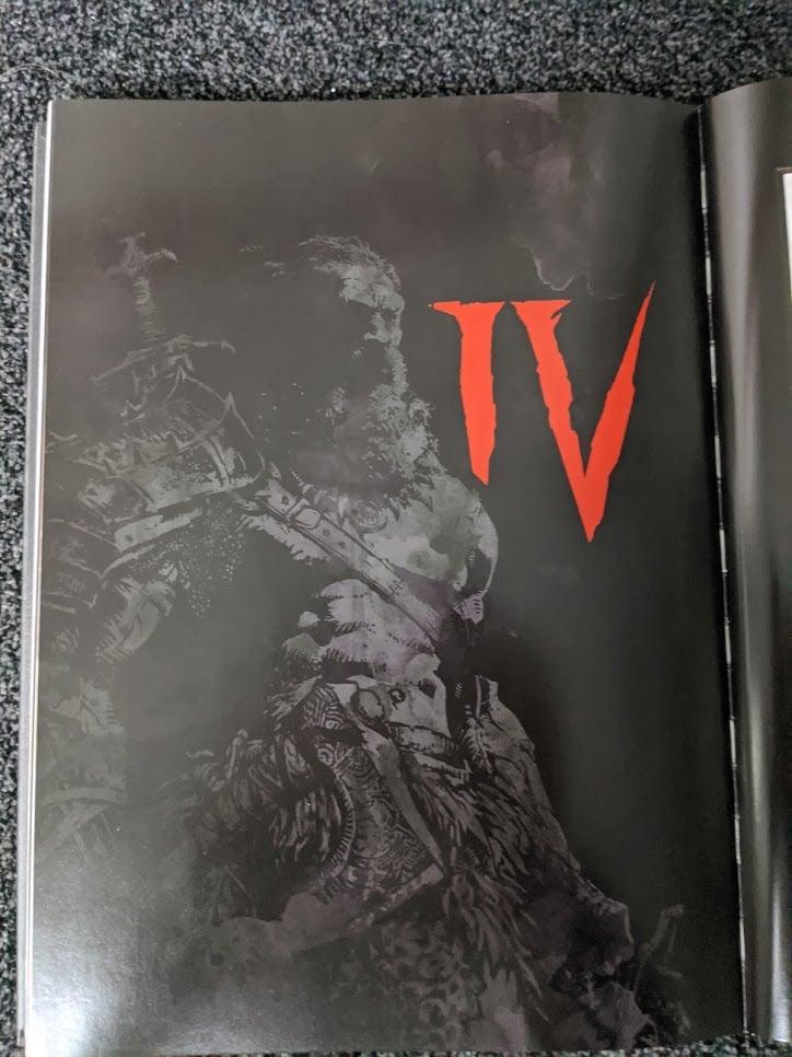Weitere Diablo 4 Seiten aus dem Diablo Artbook