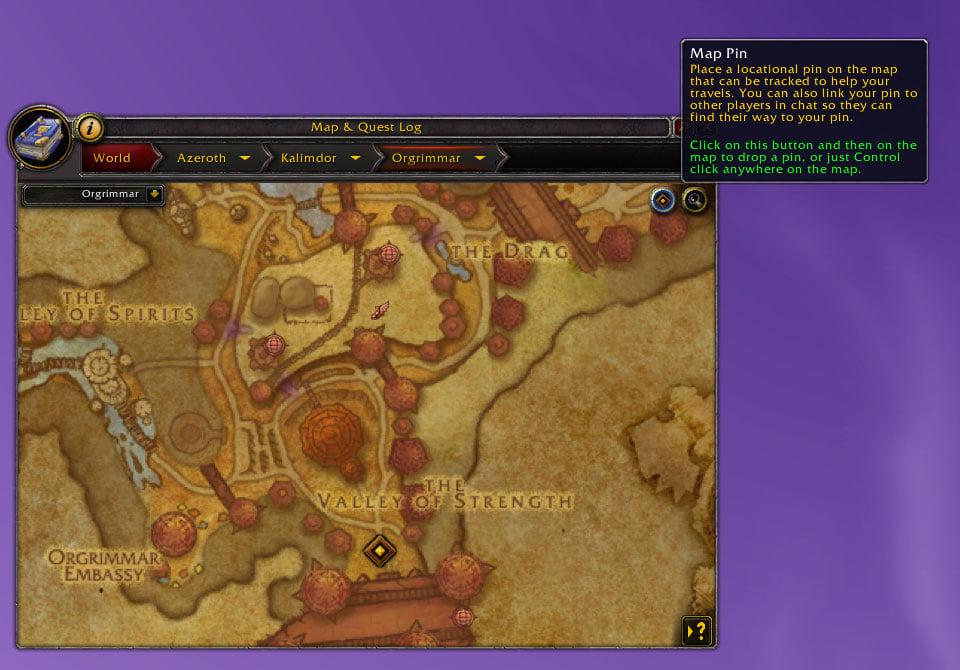 Shadowlands: изменения интерфейса